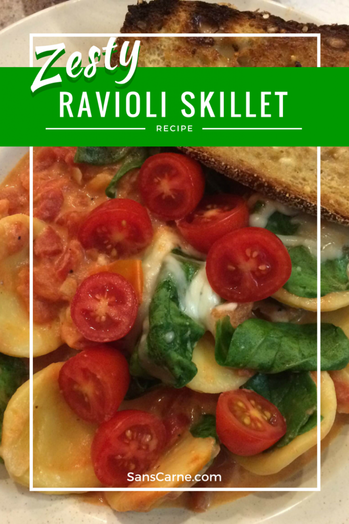Zesty Ravioli Skillet recipe